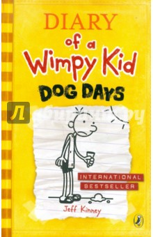 Diary of a Wimpy Kid. Dog DaysИзучение иностранного языка<br>Now in paperback - the next mega-selling instalment in the hilarious Diary of a Wimpy Kid series.<br>Greg s mom has a vision of family togetherness that really doesn t sound a whole lot of fun.<br>But there s a brand-new addition to the Heffley family to contend with and it looks like Greg might be outnumbered. It could be a real dog of a summer.<br>