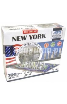 Настольная игра Нью-Йорк, 3D Пазл, 700 деталей