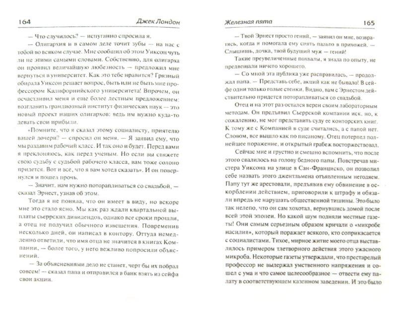 Иллюстрация 1 из 7 для Железная пята - Джек Лондон   Лабиринт - книги. Источник: Лабиринт