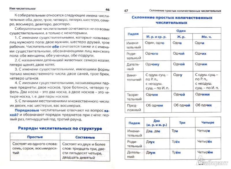 Иллюстрация 1 из 16 для Правила по русскому языку. Начальная школа. ФГОС | Лабиринт - книги. Источник: Лабиринт