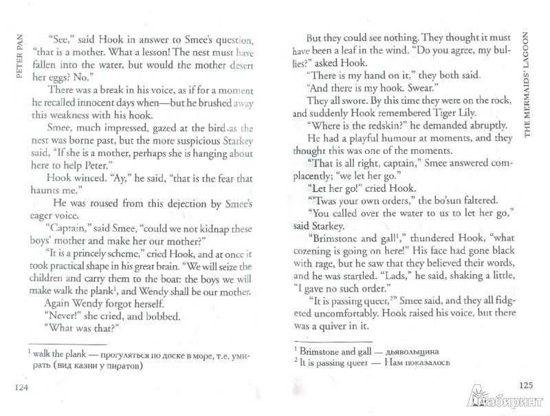 Иллюстрация 1 из 7 для Peter Pan - James Barrie | Лабиринт - книги. Источник: Лабиринт