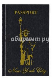 Книга для записей  Нью-Йорк.  (60579)Записные книжки средние (формат А6)<br>Книга для записей со страницей для персональных данных.<br>Разлиновка - Линейка.<br>Твердый перелет.<br>128 страниц для записей.<br>Производство Германия<br>
