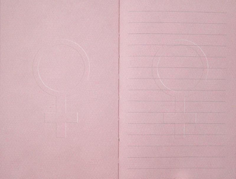 """Иллюстрация 1 из 2 для Книга для записей """"Феминизм"""". (60748)   Лабиринт - канцтовы. Источник: Лабиринт"""