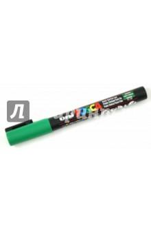 Маркер декоративный зеленый круглый тип острия (PC-3M)