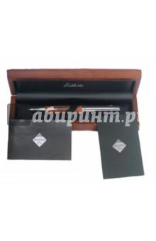 """Ручка шариковая """"Protege"""", цвет корпуса муарово-коричневый (28-9143 B27) Protege Paris S.A."""
