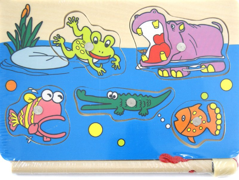 """Иллюстрация 1 из 4 для Игра """"Рыбалка на берегу Африки"""" (4530C)   Лабиринт - игрушки. Источник: Лабиринт"""