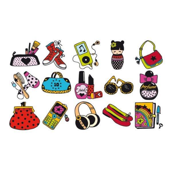 """Иллюстрация 1 из 2 для Набор из 15 штампиков """"Модница"""" (03341)   Лабиринт - игрушки. Источник: Лабиринт"""