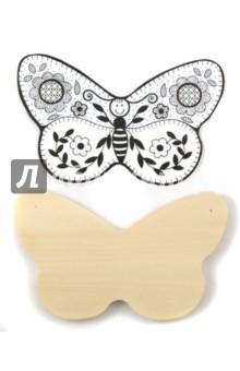 Доска под роспись и выжигание Бабочка (Д-404)