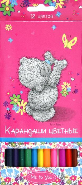 """Иллюстрация 1 из 7 для Карандаши """"Me to You"""". 12 цветов. Трехгранные (204-0002-MY/CL)   Лабиринт - канцтовы. Источник: Лабиринт"""