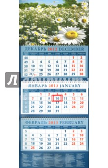 """Календарь 2013 """"Пейзаж с ромашками"""" (14334)"""