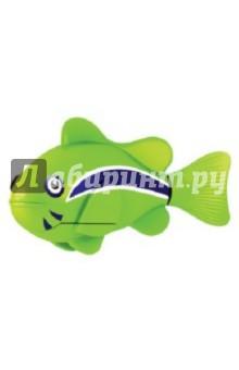 РобоРыбка. Зеленая Рыбка Клоун (2501-1)Роботы и трансформеры<br>Электронная игрушка Зеленая Рыбка Клоун - это маленькая, симпатичная и компактная рыбка создана с использованием самых последних технологий. Эта игрушечная рыбка очень натурально повторяет движения настоящей рыбы-клоуна. Чтобы активировать ее, просто достаньте ее из упаковки и опустите в воду, рыбка тут же заспешит по своим рыбьим делам. Такая игрушка приведет восторг не только Ваших детей, но и удивит взрослых. Целый аквариум таких рыбок - очень красивое зрелище, а главное у них не надо убирать, кормить и менять воду. Если рыбка перестанет двигаться, достаточно сменить ей батарейки, и она снова готова радовать Вас. <br>Для работы рыбки требуются 2 батарейки LR44 (есть в комплекте).<br>Для детей от 3-х лет.<br>Длина рыбки 7,5 см.<br>Изготовлено из пластмассы, с элементами из резины и металла.<br>Сделано в Китае.<br>
