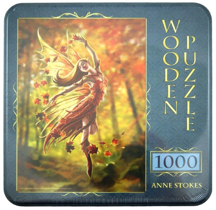 "Иллюстрация 1 из 13 для Puzzle-1000 ""Фея Осени, Anne Stokes"" (10015) | Лабиринт - игрушки. Источник: Лабиринт"