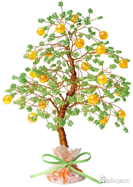 16 дек 2011 Апельсиновое дерево из бисера. :) Изображение Для создания апельсинового дерева из бисера потребуется...