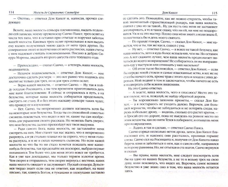 Иллюстрация 1 из 5 для Дон Кихот. В 2 томах. Том 1-2 - Мигель Сервантес | Лабиринт - книги. Источник: Лабиринт