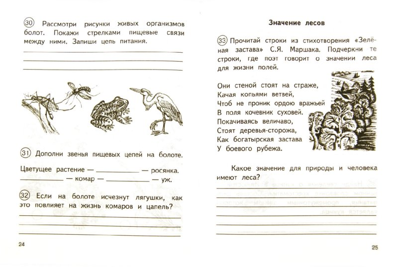 Иллюстрация 1 из 19 для Окружающий мир: 3 класс: Тетрадь для самостоятельной работы № 2. ФГОС - Федотова, Трафимова, Трафимов | Лабиринт - книги. Источник: Лабиринт