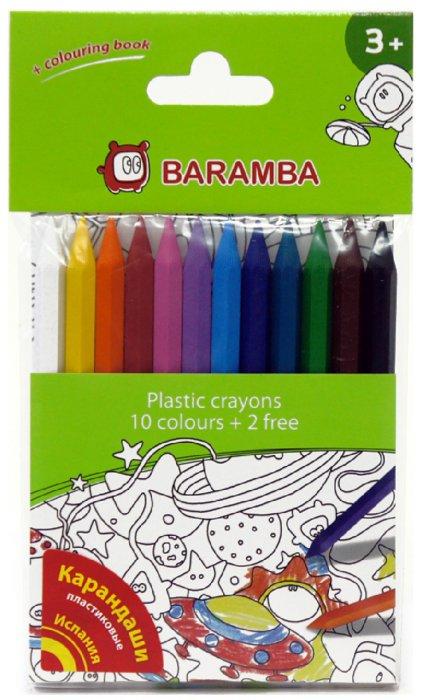 Иллюстрация 1 из 5 для Карандаши пластиковые 12 цветов, в блистере (B96210)   Лабиринт - канцтовы. Источник: Лабиринт