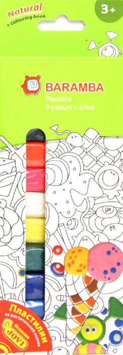 Иллюстрация 1 из 6 для Пластилин 11 штук, 11 цветов (B30009) | Лабиринт - игрушки. Источник: Лабиринт