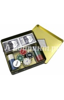 Набор для игры в покер 100 фишек (24920)