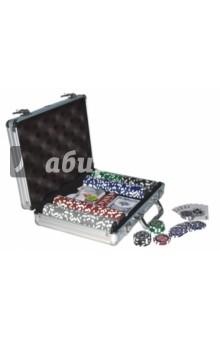 Настольная игра Набор для игры в покер 200 фишек (24934)