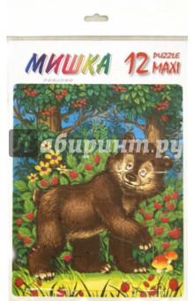 """Пазл MAXI 12 """"Мишка"""" (П-1223)"""