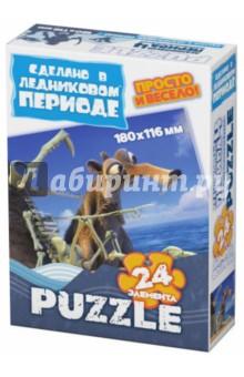 """Пазл-24 МИНИ """"Континентальный дрейф"""" (400303)"""