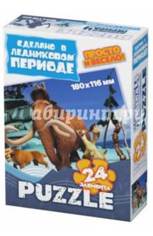 """Пазл-24 МИНИ """"Континентальный дрейф"""" (400307)"""