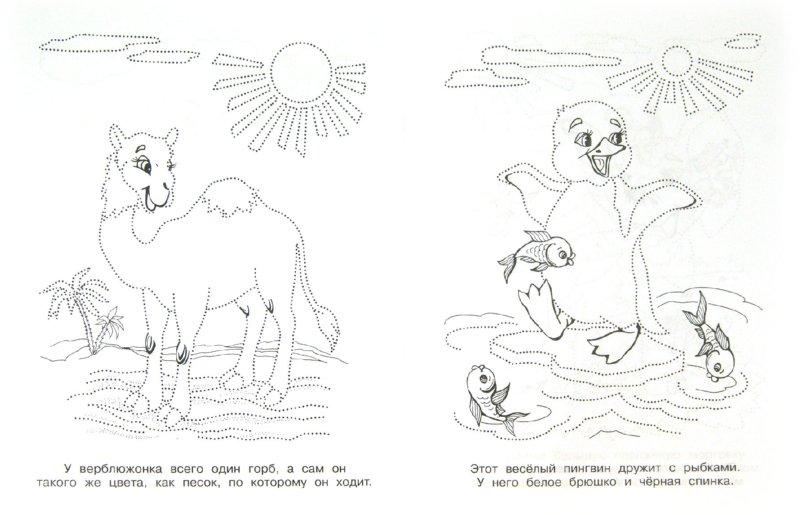 К животные соедини по точкам
