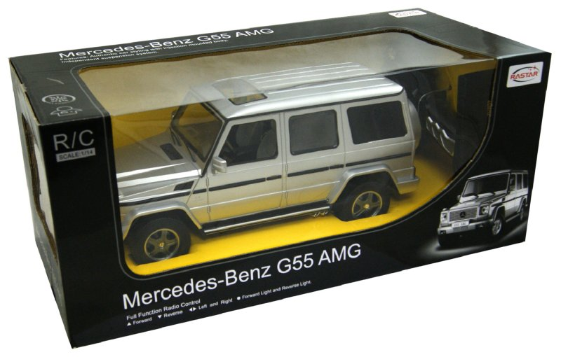 Иллюстрация 1 из 2 для Машина радиоуправляемая Mercedes-Benz G55 AMG 1:14 (30400) | Лабиринт - игрушки. Источник: Лабиринт