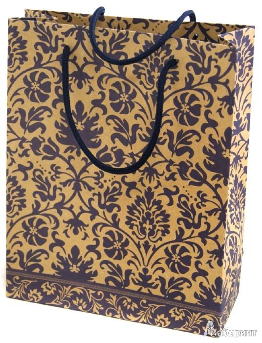 Иллюстрация 1 из 3 для Пакет бумажный 24х19х8 (Ф21-1904) | Лабиринт - сувениры. Источник: Лабиринт