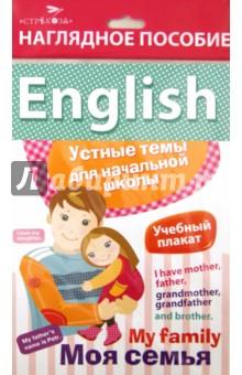 """Наглядное пособие. English """"Моя семья"""""""