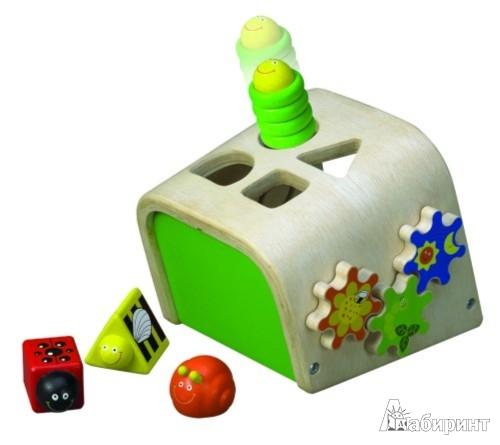 Иллюстрация 1 из 2 для Сортер с игрушками насекомыми (ВЕД-3096)   Лабиринт - игрушки. Источник: Лабиринт