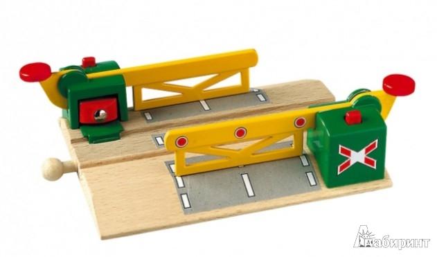 Иллюстрация 1 из 3 для Железная дорога - переезд, на магнитах, длина 14,4см (33750) | Лабиринт - игрушки. Источник: Лабиринт