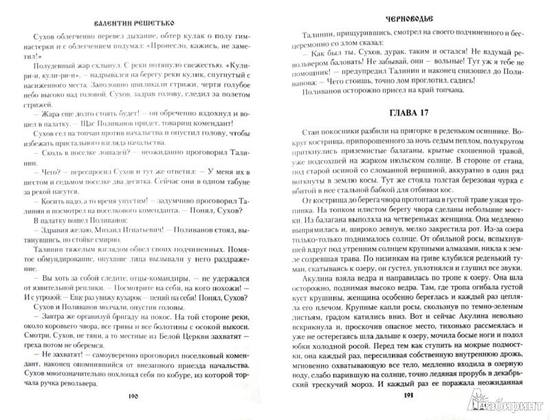 Иллюстрация 1 из 12 для Черноводье - Валентин Решетько | Лабиринт - книги. Источник: Лабиринт