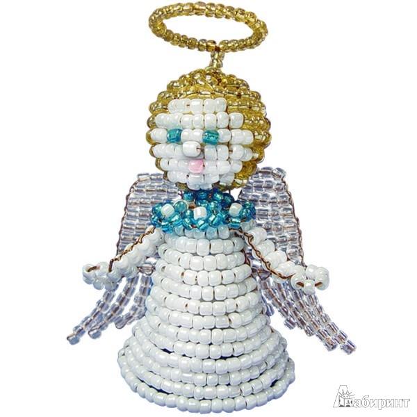 Подробно об игрушке: Ангел из бисера (АА 05-580) .