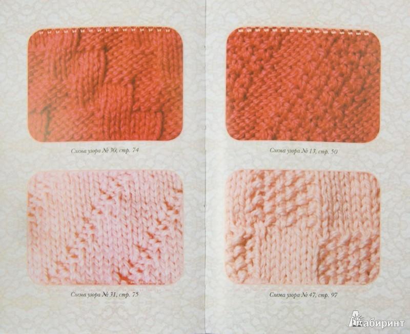 схемы вязания каймы спицами