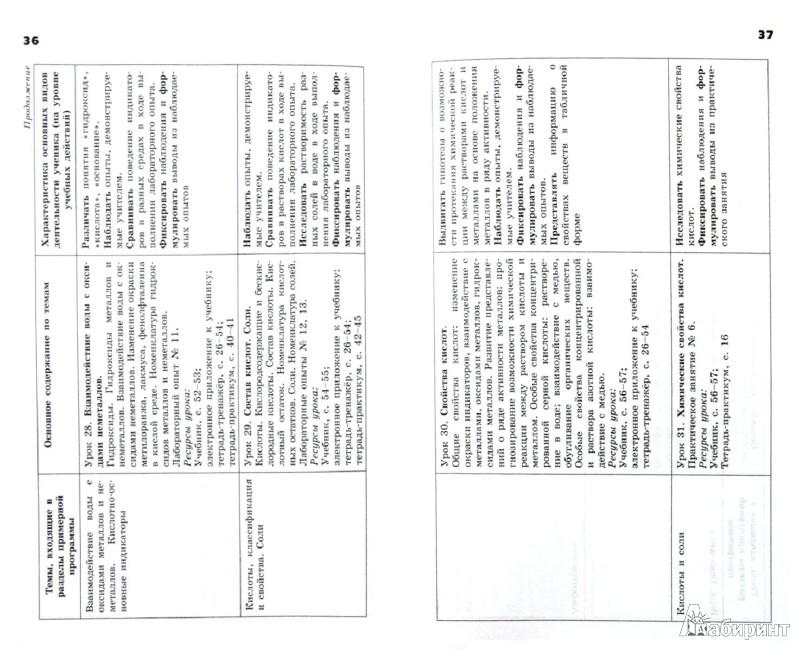 Гдз по химии 9 класс оржековский