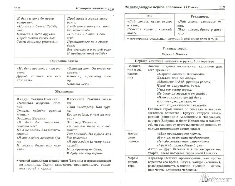 """Иллюстрации к """"Литература в"""