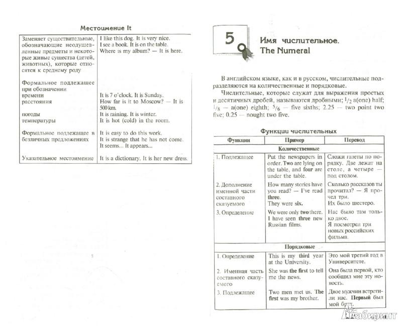 грамматические таблицы по немецкому языку.