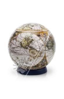 Настольная игра Старинная карта мира. Шаровый пазл 23 см (А1151-09-1-1)