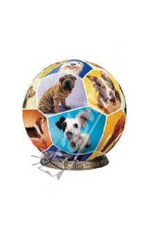 """Шаровый пазл """"Мир собак"""" 23 см (А1358-09-1-1) от Лабиринт"""