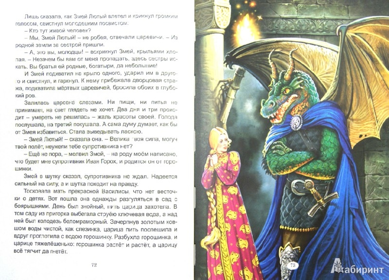 Иллюстрация 1 из 27 для Сказки Василисы Премудрой | Лабиринт - книги. Источник: Лабиринт