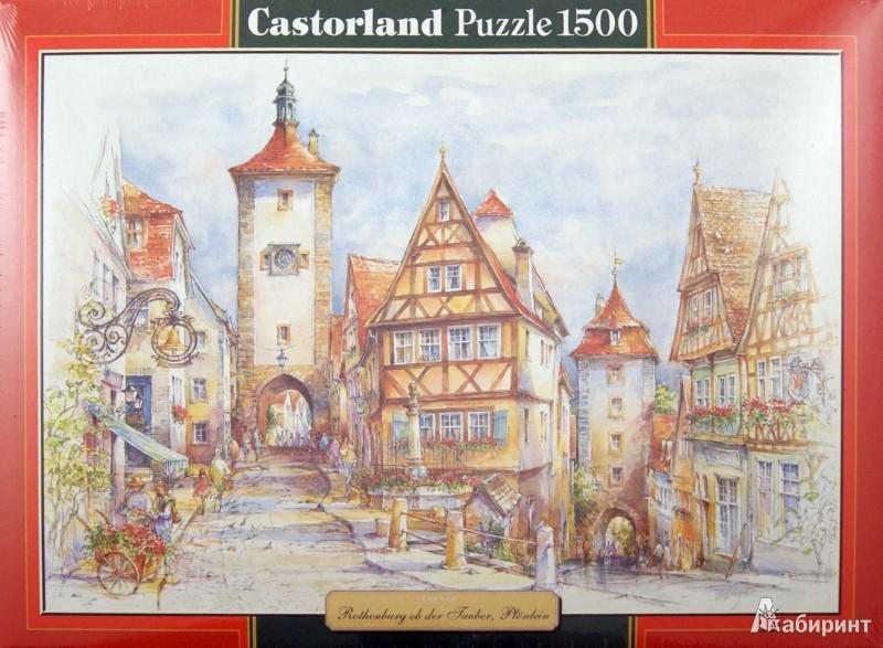 """Иллюстрация 1 из 23 для Puzzle 1500 элементов, """"Ротенбург"""" (C-151059)   Лабиринт - игрушки. Источник: Лабиринт"""