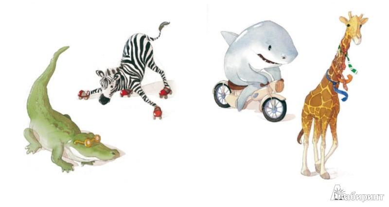 Иллюстрация 1 из 40 для Папа, а почему зебры не катаются на роликах? - Квентин Гребан | Лабиринт - книги. Источник: Лабиринт