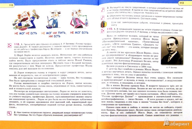 Онлайн книга по русскому языку 8 класс