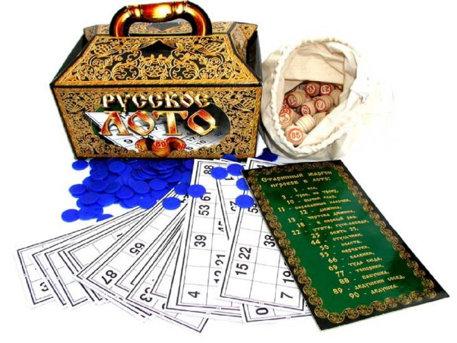 Иллюстрация 1 из 21 для Лото русское подарочное (12125, 00142) | Лабиринт - игрушки. Источник: Лабиринт