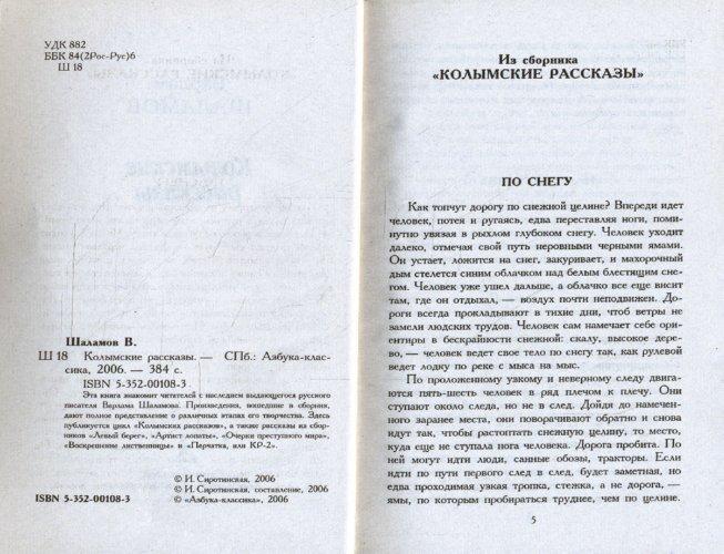Иллюстрация 1 из 5 для Колымские рассказы - Варлам Шаламов | Лабиринт - книги. Источник: Лабиринт