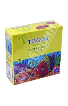 Волшебный пластилин. Набор застывающего пластилина Заводная игрушка , 7 цветов (TZ 9161)