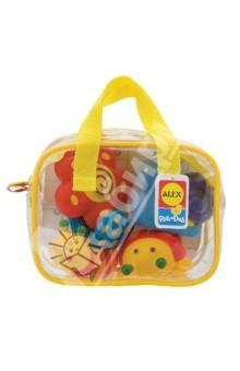 """Игрушки для ванной """"Сад"""" (4 штуки в сумке) (700GN) ALEX"""