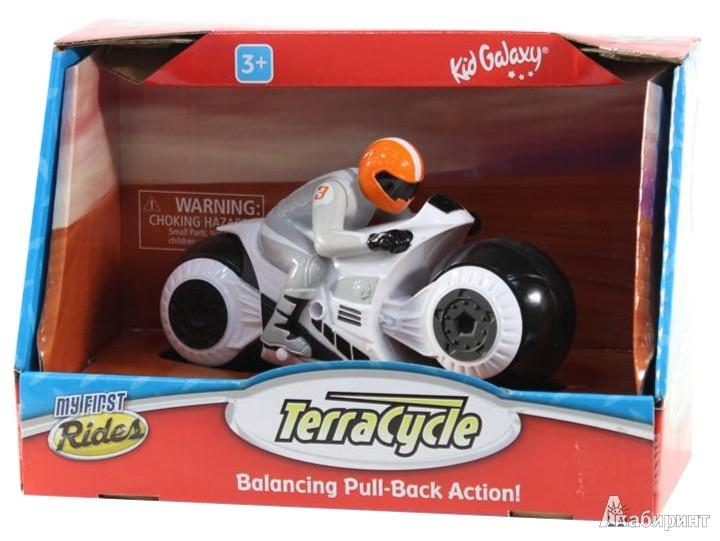"""Иллюстрация 1 из 2 для Мотоцикл инерционный """"My first RC"""" с гонщиком (10568)   Лабиринт - игрушки. Источник: Лабиринт"""