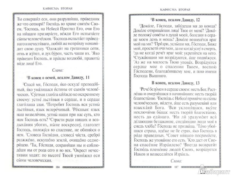 Иллюстрация 1 из 13 для Молитвослов и Псалтирь. Русский шрифт   Лабиринт - книги. Источник: Лабиринт